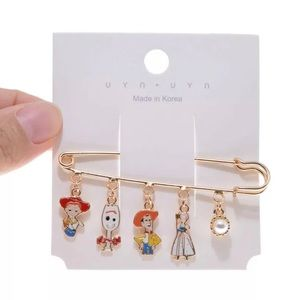 New Disney Toy Story clothespin brooch pin CUTE